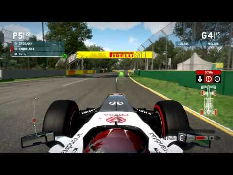 F1 2013 Gameplay Ita PC Gran Premio Albert Park Australia -