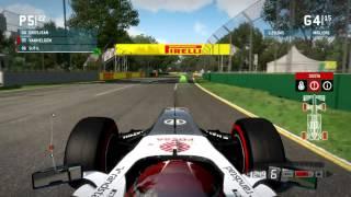 F1 2013 Gameplay Ita PC Gran Premio Albert Park Australia - Inizio Campionato -