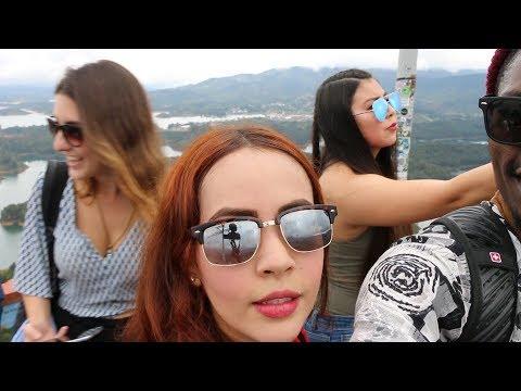 El Peñón de Guatapé Stories ( Near Medellin Colombia ) Vlog