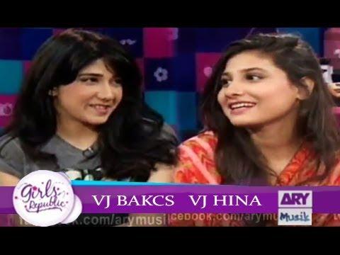 Girls Republic | VJ Backs | VJ Hina | ARY Musik