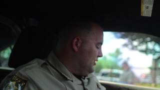 Deputy sits in hot car for 25 minutes!