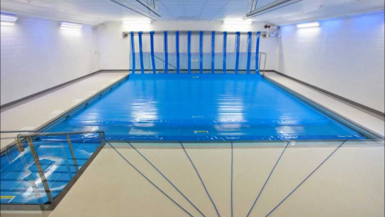 St Nicholas School Swimming Pool Cover & Reel System