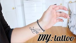 DIY: Temporary Tattoo (WATERPROOF)