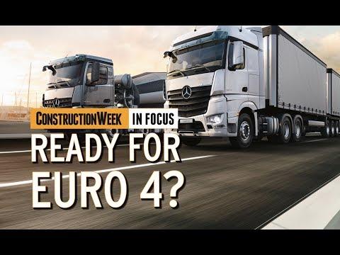 Construction Week In Focus: Episode 8 – Euro 4 regulation in the UAE