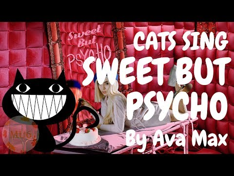 Cats Sing Sweet but Psycho by Ava Max | Cats Singing Song