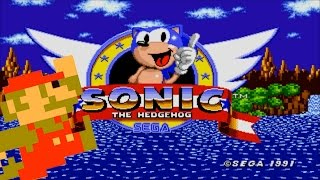 Sonic The Hedgehog: With super mario sound effects?