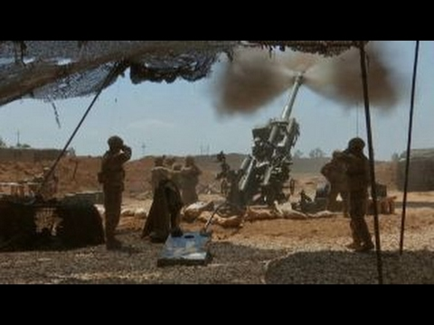 Thumbnail: US troops fire heavy artillery operation at ISIS