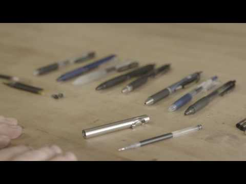 Information on how to use the Tactile Turn Slider and Glider Bolt Action Pens