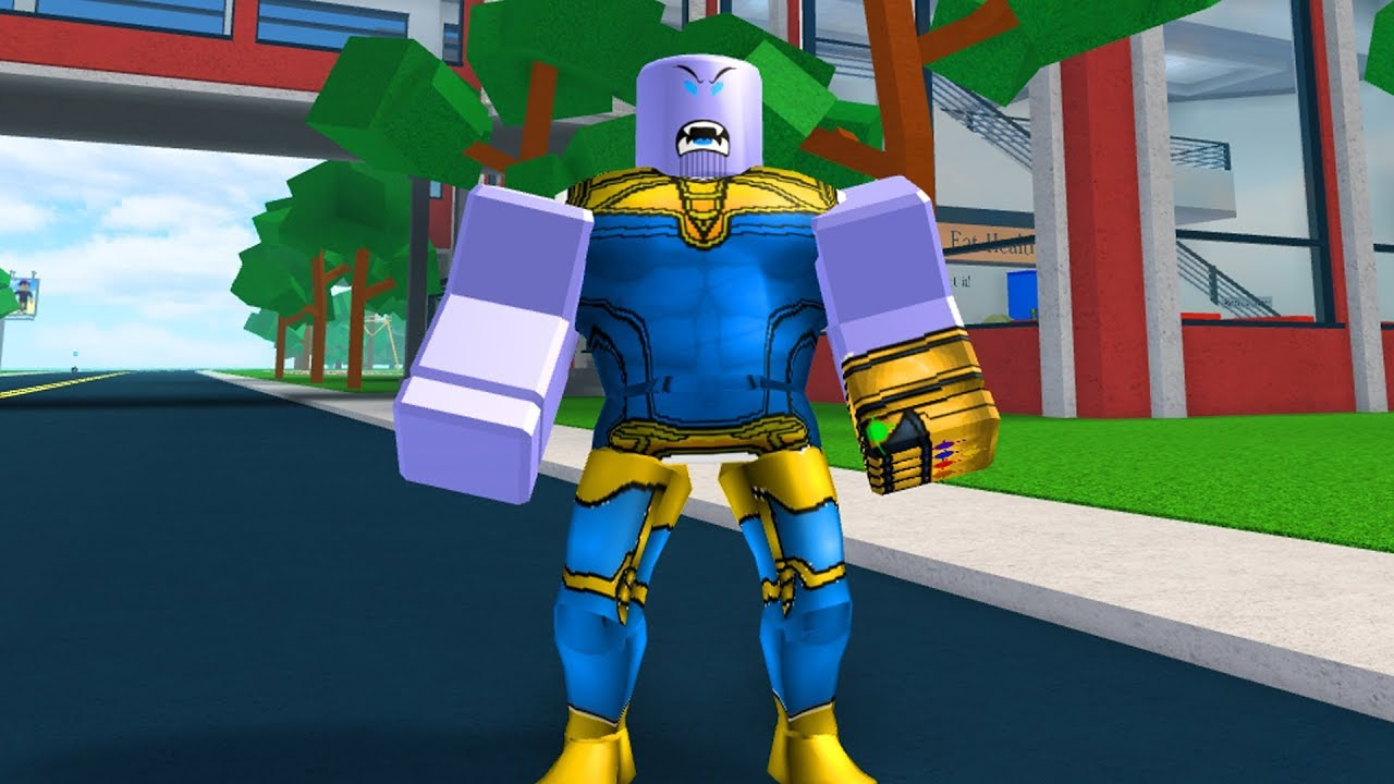 HOW TO BE THANOS IN ROBLOXIAN HIGHSCHOOL!!