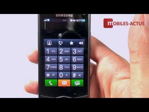 Samsung Wave GT S8500 : démonstration vidéo et prise en main