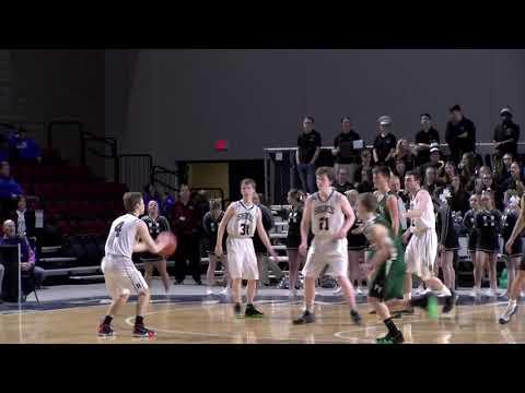 Class C Boys Quarter Final  #5 Penobscot Valley High School vs  #4 Houlton