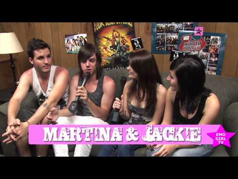 Jackie and Martina interview Artist vs Poet at Warped Tour 2010