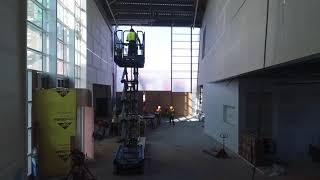 September 26, 2017: Nordic Museum Construction Progress (Fjord Hall)