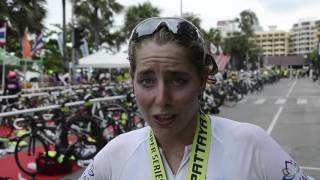 Video Female Champion Amelia Watkinson post Pattaya Triathlon interview download MP3, 3GP, MP4, WEBM, AVI, FLV November 2018