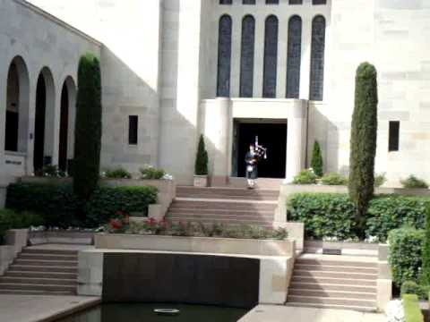 Australia - Canberra War Museum closing ceremony