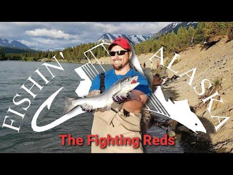 FISHING THE ALASKA RUSSIAN RIVER KENAI CONFLUENCE