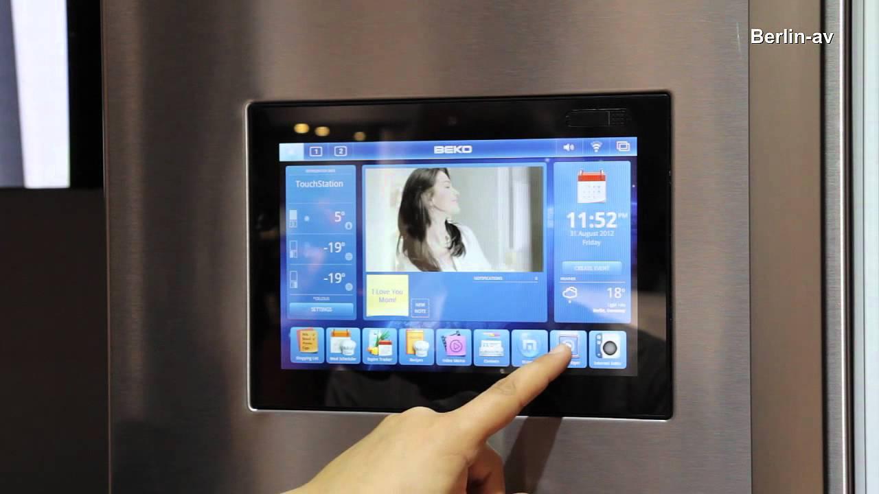 IFA 2012 Kühlschrank mit Internet My refrigerator has
