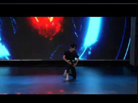 150615 UNIQ Wang YIBO sexy dance solo cut --- @IDOL SHOW