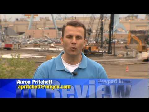 Newport News in Review APRIL 2010 HD- Northrop Grumman Shipyard- Newport News