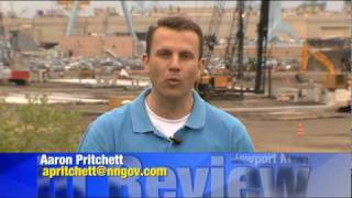 Newport News in Review APRIL 2010 HD- Northrop Grumman Shipyard- Newport News