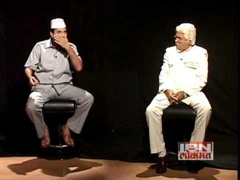 Sahi Re Sahi Bharat Jadhav on IBN LOKMAT with Amol Parchure