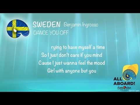 Benjamin Ingrosso - Dance You Off (Sweden) [Karaoke Version]