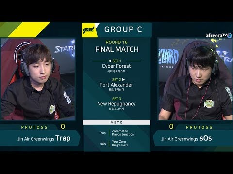 [2019 GSL S1] Ro.16 Group C Match5 (Final Match)