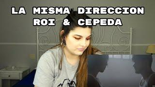 REACCIÓN: LA MISMA DIRECCIÓN - ROI & CEPEDA (audio)   Cristina Black & White