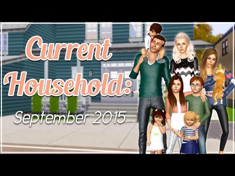 The Sims 3 Current Household: The Emery Family (September 2015)