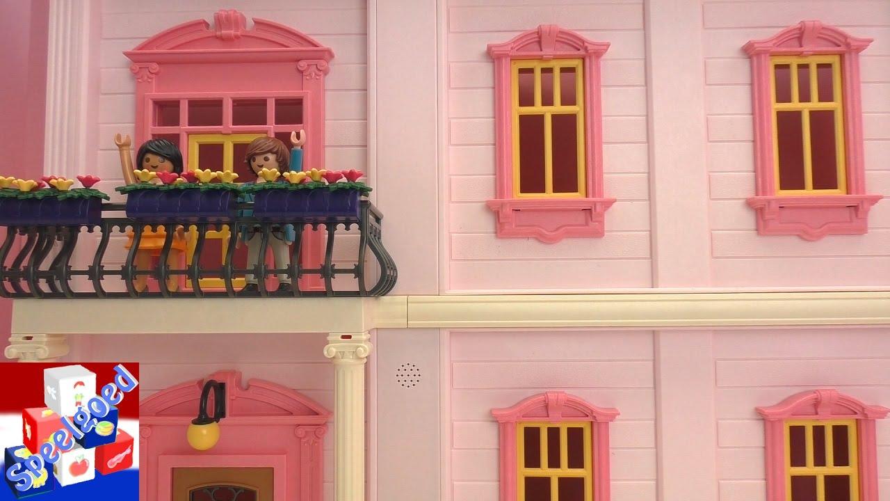 Barbie Slaapkamer Inrichten : Playmobil poppenhuis inrichten bonte kinderkamer en romantische