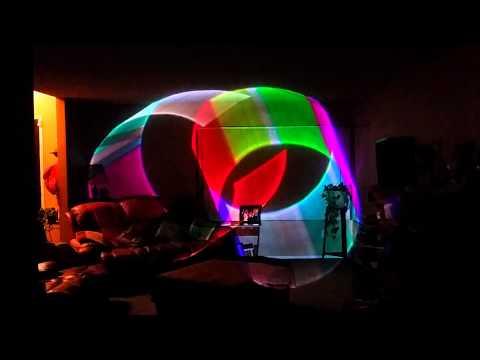Chauvet Scorpion 3D RGB lasers (SOLD)