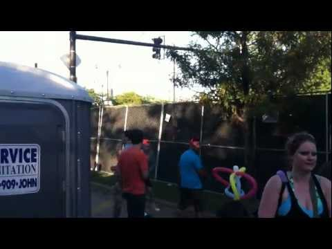 Jumping the fence @ North Coast Music Festival
