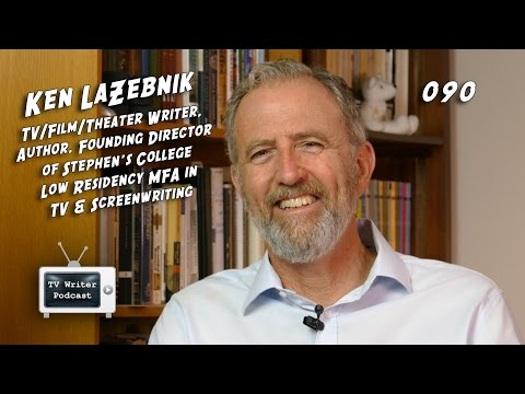 TV Writer Podcast 090 - Ken LaZebnik (A Prairie Home Companion, Touched By An Angel)