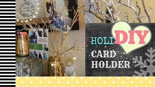 Holi Diy Christmas Card Holder (youtube Collab)