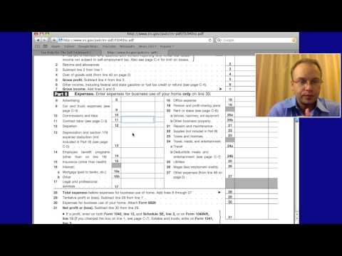 Irs Self Employed Tax Deductions &amp  Write Offs 2011, 2012
