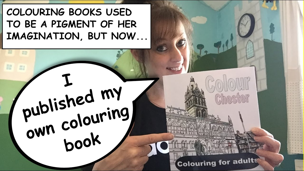 How to make an adult colouring book for FREE - Createspace