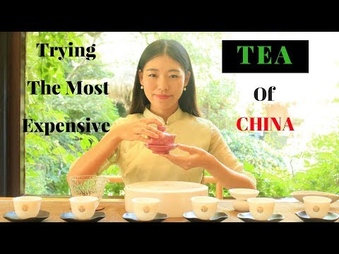 Trying The Most Expensive Tea Of China In Hangzhou | TRAVEL VLOG