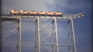生駒山上遊園地にあった(今は亡き)スカイループの映像(1981年)です...