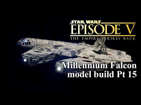 DeAgostini Millennium Falcon Customized Build Pt 15 FINAL REVEAL