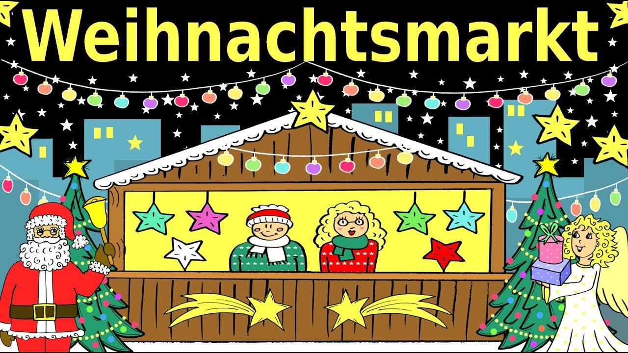 Deutsch lernen: Der Weihnachtsmarkt & Weihnachten learning German: Christmas market