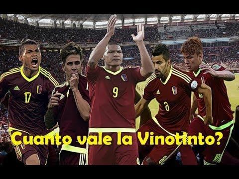 Cuanto vale la Vinotinto Los 10 jugadores m�s caros de Venezuela