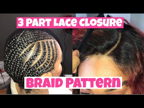 No Leave Out Sew in Braid Pattern