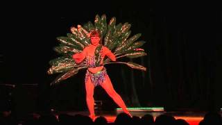 Miss Burlesque WA 2015 -  Classic - Shy Violet