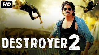 DESTROYER 2 - Hindi Dubbed Full Action Movie | Nagarjuna Movies In Hindi Dubbed | South Action Movie