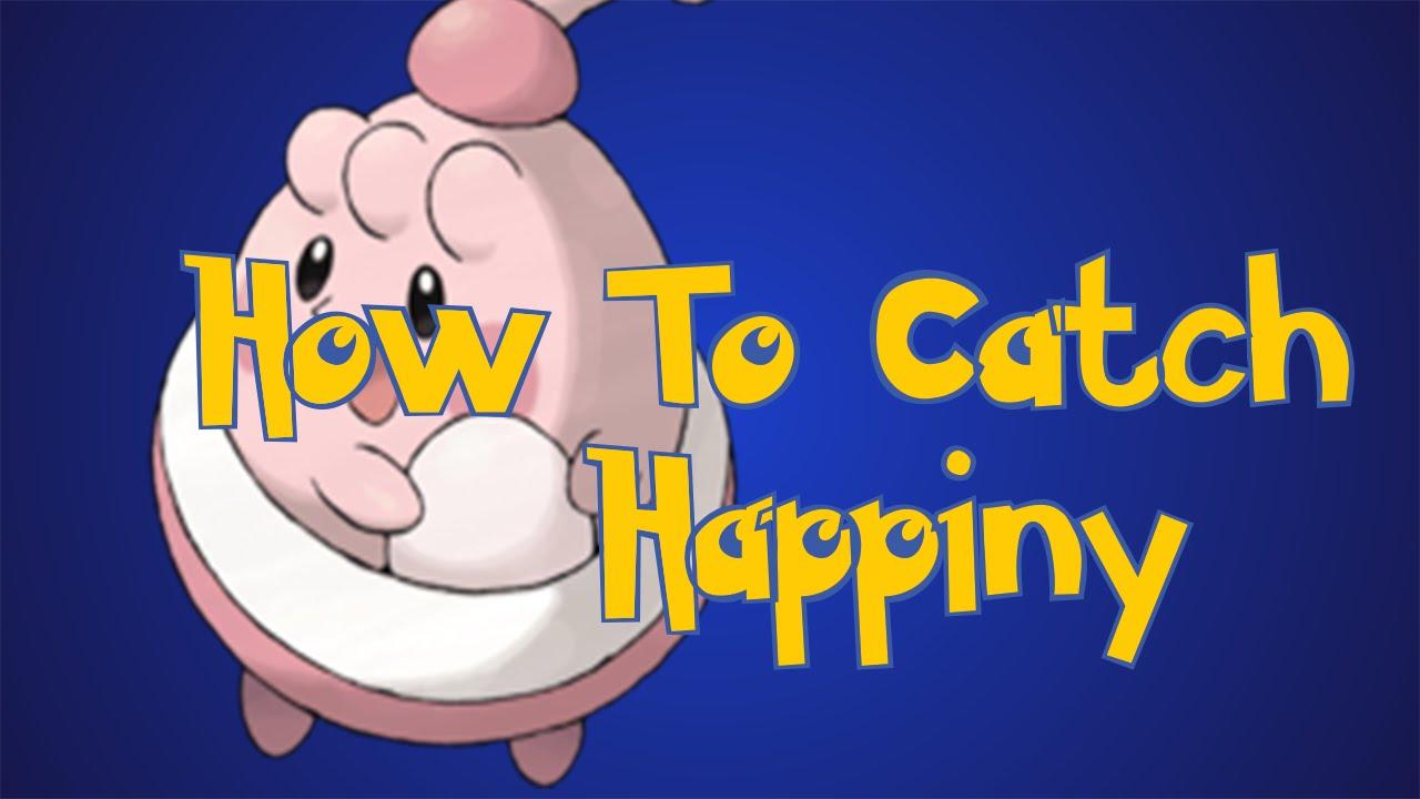 how to meet happiny in pokemon platinum