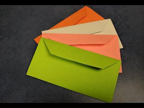Как самому сделать конверт для денег