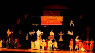 India Patriotic Song - Tamil kids skit dance performance - sangamam 2013