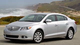 2013 Buick Lacrosse Start Up and Review 3.6 L V6