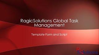RagicSolutions Global Task Demo