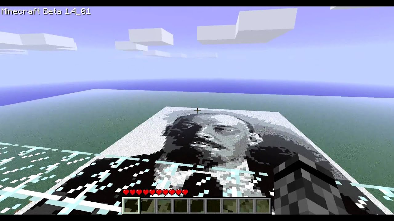 how to make portrait in minecraft